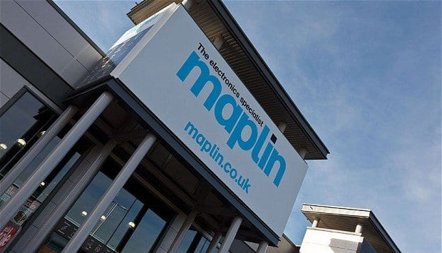 Data security sold at Maplin