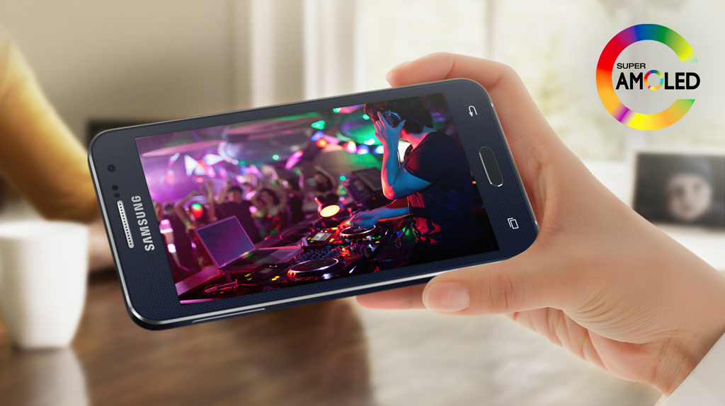 Samsung Galaxy A3 Amoled Screen