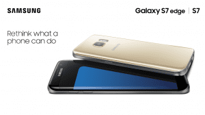 Samsung Galaxy S7 Edge and S7