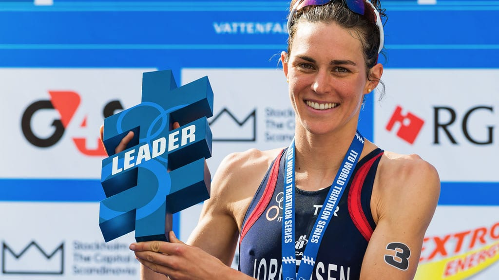 Gwen Jorgesen, World Triathlon Series Champion