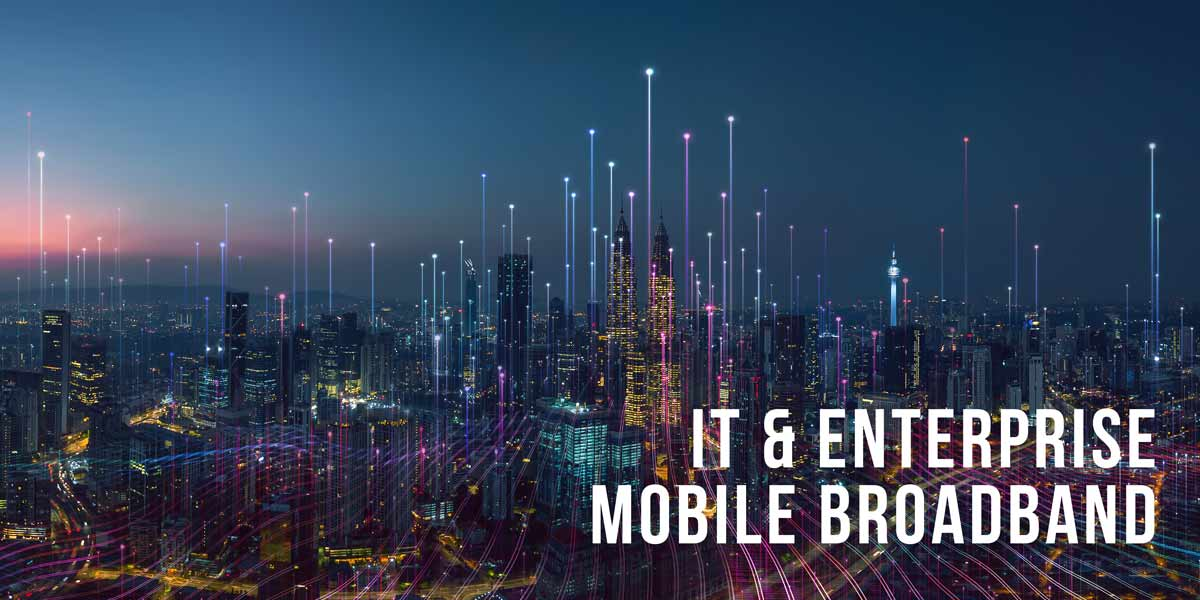 Mobile broadband plans for it and enterprise