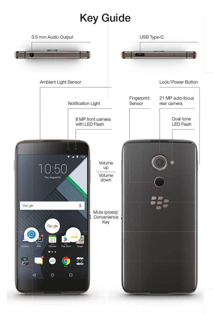 DTEK 60 THE WORLD'S MOST SECURE ANDROID™ SMARTPHONE