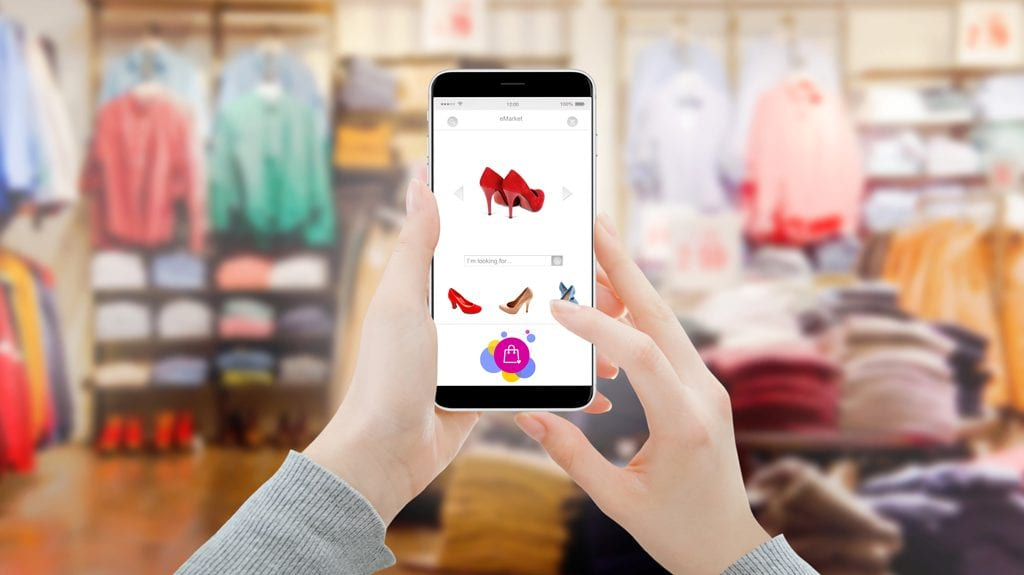 Consumers say access to in-store mobile technology improves their shopping experience