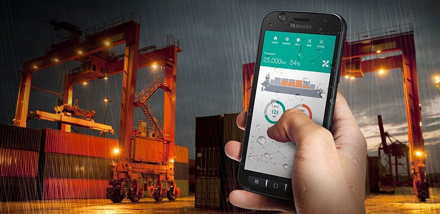 Samsung Rugged weather proof devices