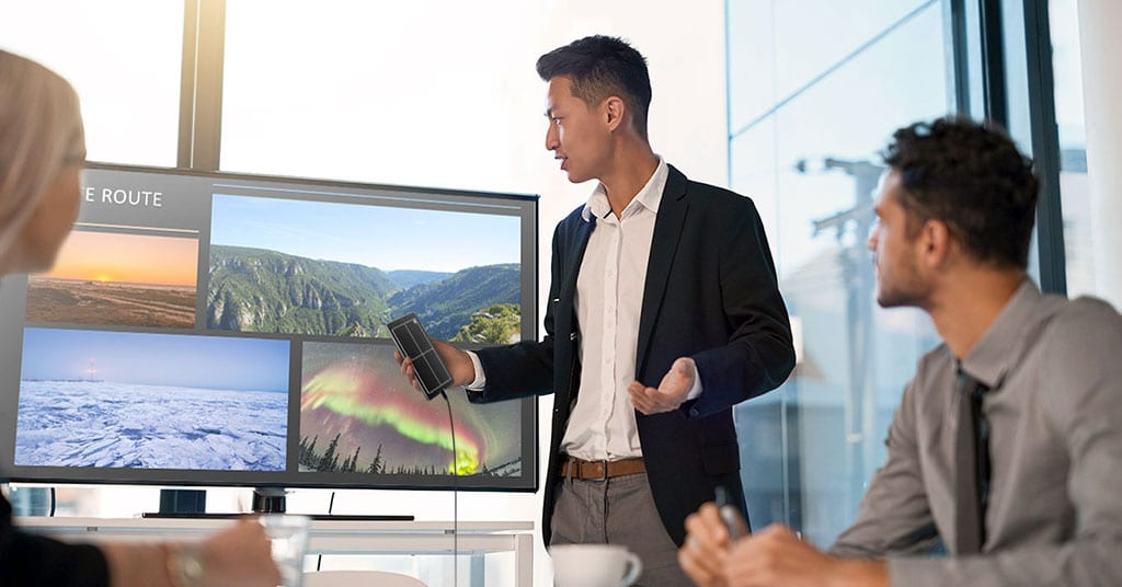 Using Samsung DeX for powerpoint presentations