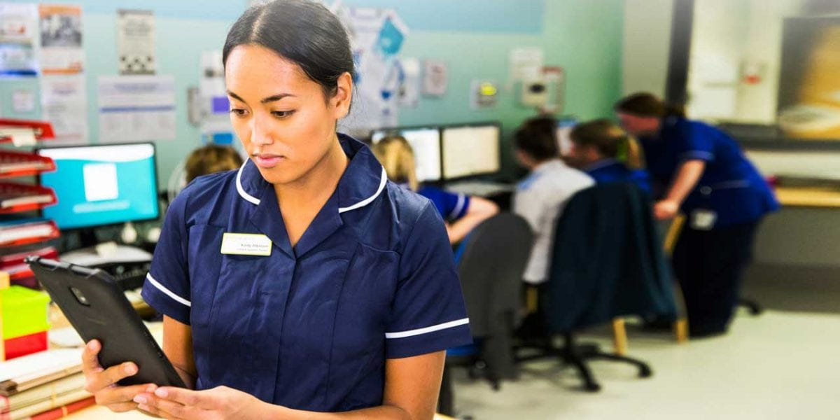 Rugged devices in Healthcare