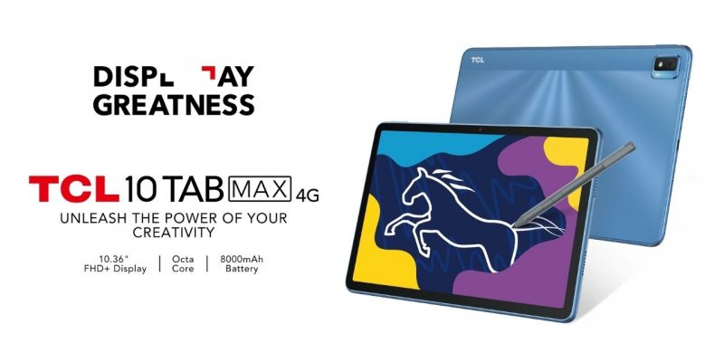 TCL 10 TAB MAX_Now_available